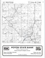 Potosi T3N-R3W, Grant County 1982